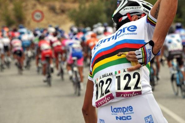 El ex campeón del mundo, Alessandro Ballan, ha sido uno de los más castigados por las lesiones de pretemporada.