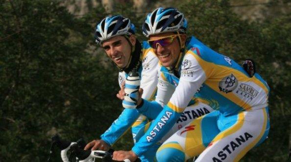 Dani Navarro deja a un lado su etapa como gregario de Contador para probar por su cuenta.