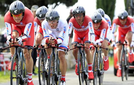 El Katusha ruso es una de los destinos preferidos por los ciclistas españoles.