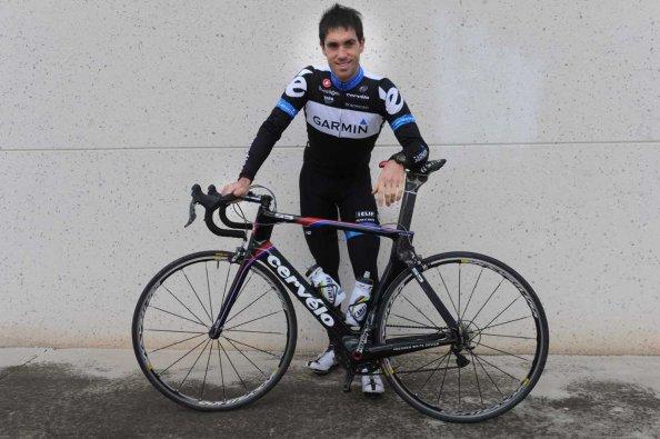 Koldo Fernández de Larrea, feliz en su etapa en el Garmin.