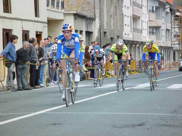 Una imagen de Koldo en su etapa como amateur (Foto: koldofernandezdelarrea.com)