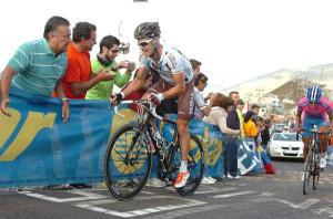 Nicolas Roche en la pasada Vuelta a España 2012