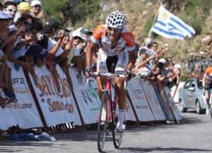 Daniel Díaz consiguió el liderato en una etapa para el recuerdo.