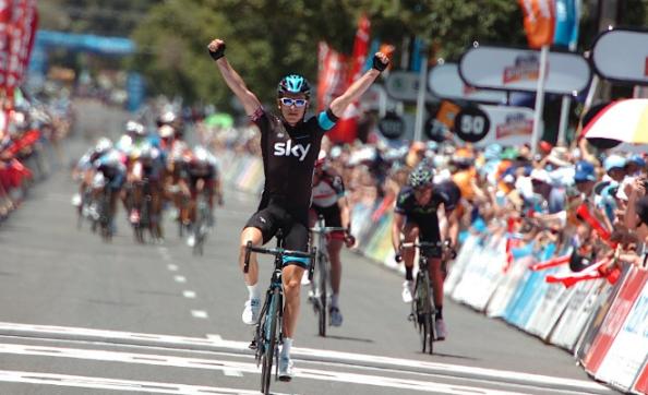 Geraint Thomas es ahora mismo el lider provisional tras ganar en la segunda etapa (Foto: forrallmyfriends)