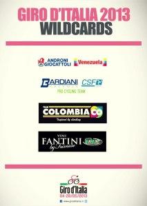 El Giro 2013 ya les espera.