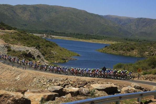 Una de las etapas del Tour dde San Luis 2012 (cyclingnews.com)