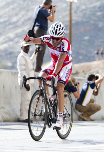 """""""Purito"""" tiró de rabia para llevarse la victoria en la cuarta etapa (Foto: tourofoman.om)"""