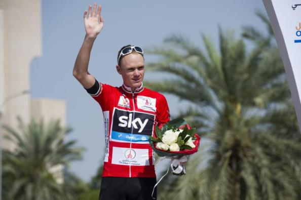 Froome avisa con su triunfo en Omán (Foto: tourofoman.om)