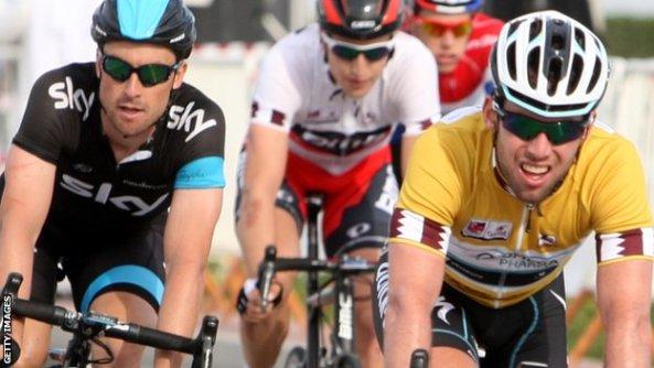 Ni BMC ni Sky han conseguido quitar de la primera posición al corredor del Omega Pharma Quick Step (foto: bbc.co.uk)
