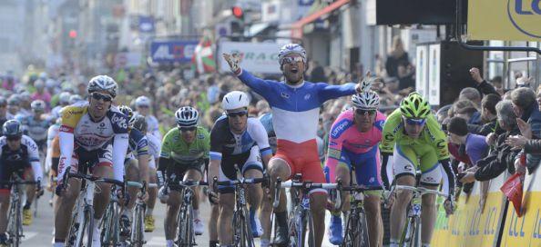 El campeón francés se impuso en la primera etapa en línea de la París-Niza (Foto: letour.fr).
