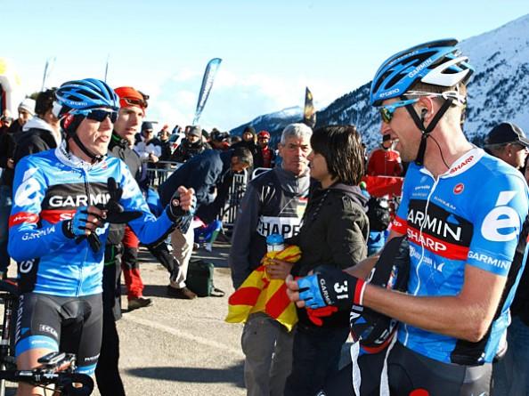 Esta pareja destrozó la Volta a Catalunya 2013 (Foto: dougreport.com).