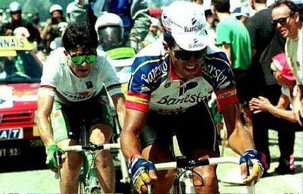 Este duelo rememora grandes recuerdos al aficionado del buen ciclismo.