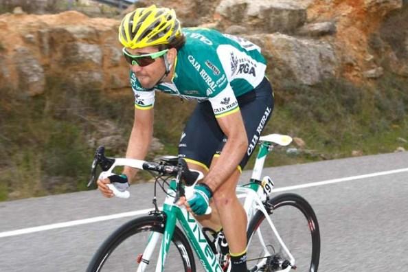 David Arroyo ha cambiado de aires en 2013 y corre actualmente en el Caja Rural (teamcajarural.blogspot.com).