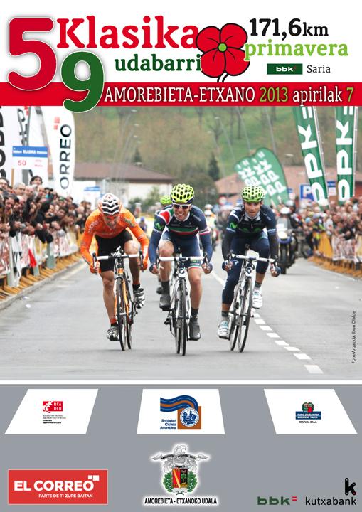 Los equipos world tour, como Movistar, Euskaltel o Saxo vuelven a partir como favoritos (Foto: scamorebieta.com).