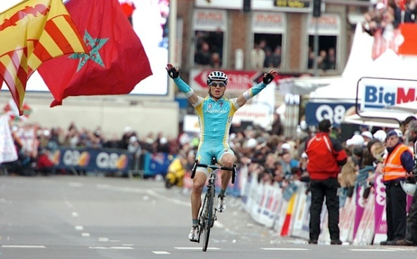 Maxim Iglinskiy cruzando la meta el pasado año (steephill.tv/sirotti).
