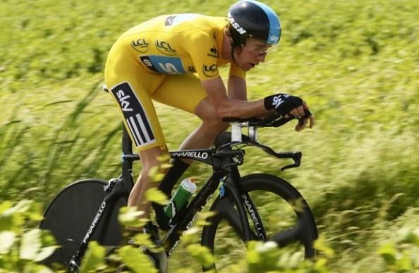 Wiggins es el máximo favorito. En parte, porque el año pasado ganó las dos contrarrelojs del Tour (foto: golpedirecto.com)