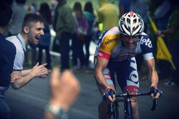 Hansen disfrutó e hizo disfrutar con su triunfo.