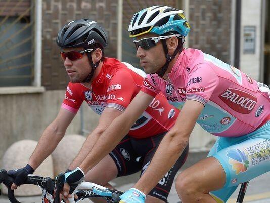 Nibali y Cavendish, Cavendish y Nibali, los triunfadores del Giro 2013.