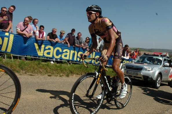 Su actuación más notable fue en el Tour de Francia 2010, donde finalizó segundo en una etapa (foto: pagina66.com)