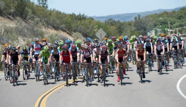El calor ha sido uno de los grandes protagonistas en este Amgen Tour of California (Casey B. Gibson).