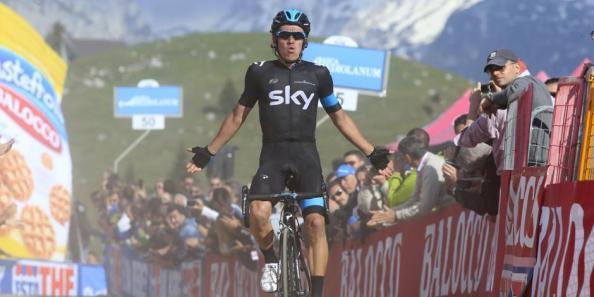 Rigoberto Urán (SKY) se hacía con la victoria en la décima etapa del Giro de Italia (gazzeta.it).