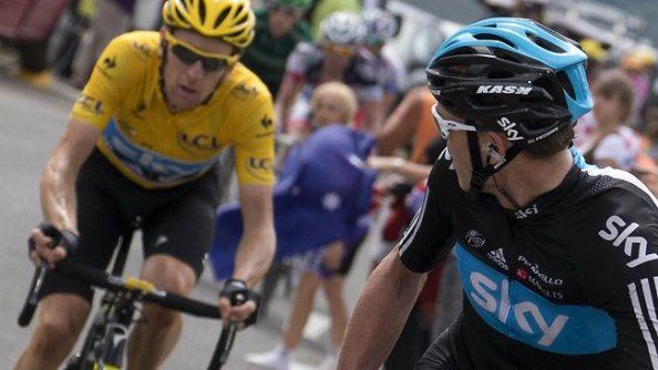 ¿Veremos esta imágen con los personajes cambaidos en el Tour de Francia 2013?