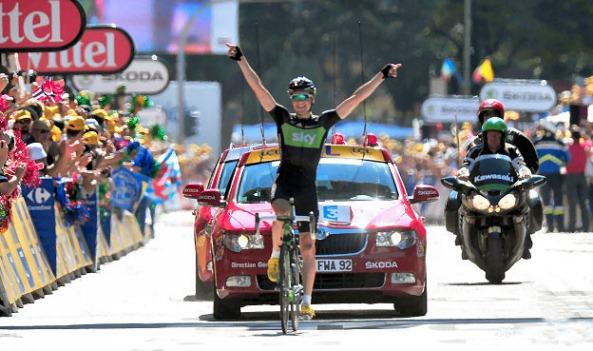 Boasson Hagen consiguió su segunda victoria en solitario el día después de haber sido segundo.