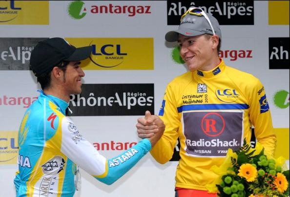 Contador sabía que llegaba al Tour en buen estado de forma, pese a ser superado por Brajkovic