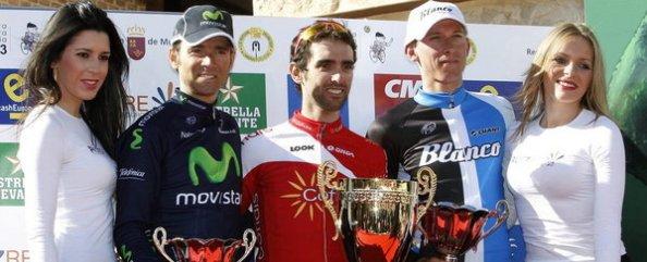 Dani Navarro brilló en la Vuelta a Murcia.