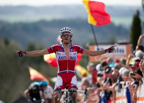 Sensacional 2013 el que lleva el madrileño, coronado con su victoria en Flecha Valona.