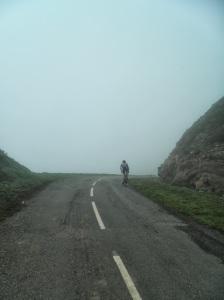 La dureza marca esta prueba cicloturista (Foto: Pedro Ceinos).