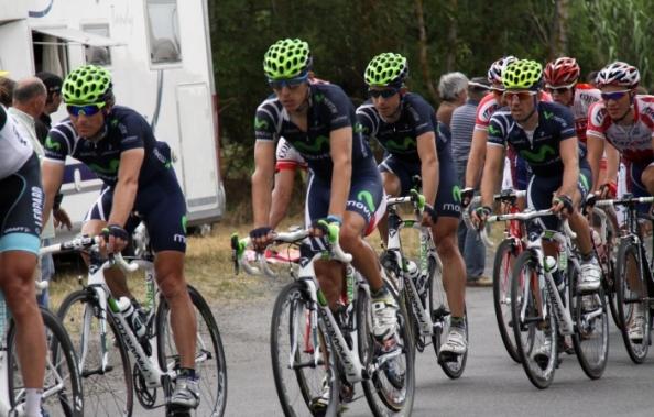 Rojas será el sprinter del Movistar Team en el Tour de Francia 2013 (foto:movistar team.com)