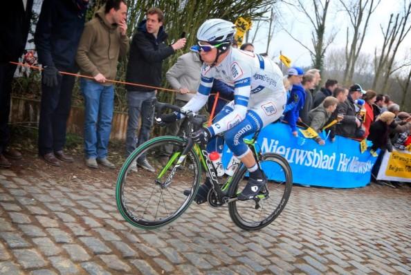 Van Rensburg ya ha debutado en el Tour de Flandes.