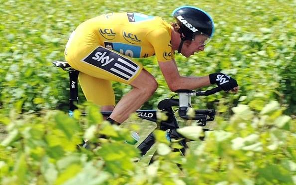 Wiggo cimentó sus dos victorias en la Dauphiné en la crono, como haría en el Tour 2012