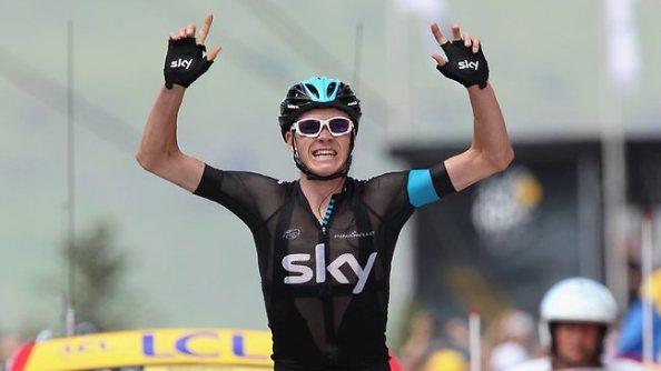 Primera y seguramente no última victoria de Froome en este Tour 2013