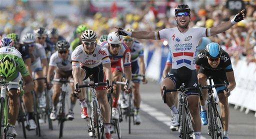 Volvió el mejor sprinter del mundo al Tour (foto:expresocampeche.com)