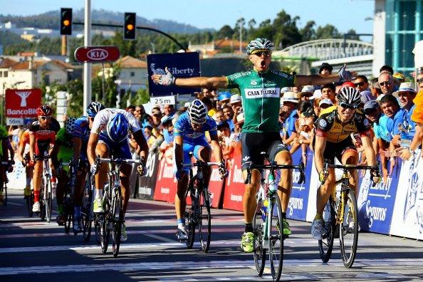 Una de las mejores victorias de Lasca fue el año pasado en Portugal (foto:cyclingfans.com)