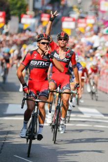Van Avermaet es el otro gran protagonista del resurgir del BMC (foto:cyclingnews.com)