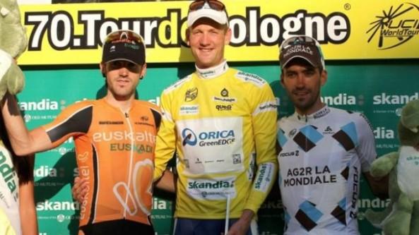 Imagen del podium final en la Vuelta a Polonia (foto:eitb.com)