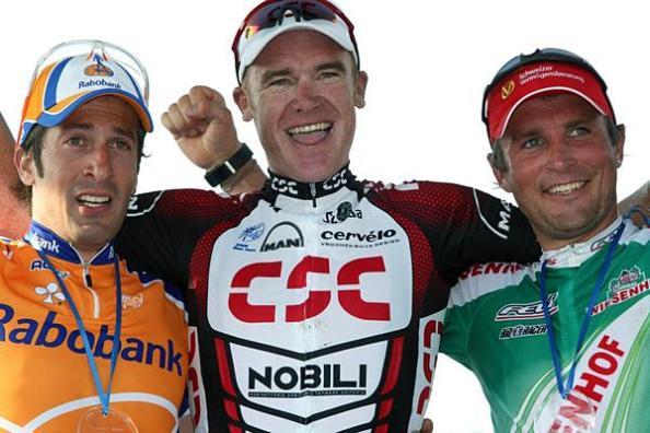 En 2007 sube al segundo cajón del podio de la París-Roubaix
