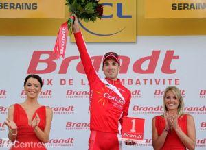 Edet ya fue el más combativo en una etapa del Tour 2012.