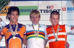 Dekker cosechó dos segundos puestos en el mundial de 2004 (foto:cyclingnews.com)