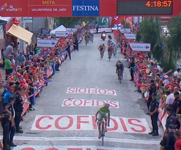 Dani Moreno ganaba tras un ataque brutal en Valdepeñas de Jaen