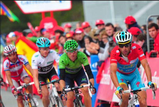 Los cuatro grandes de esta Vuelta (foto:esciclismo.com)