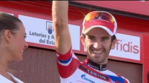 Moreno continúa brillando como gregario de Purito (foto:euronews.com)