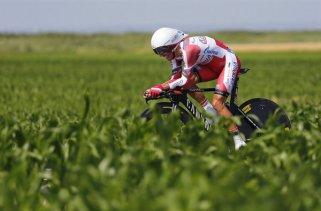 Purito Rodriguez hizo una excepcional crono final en el Tour de Francia (foto:mundodeportivo.com)