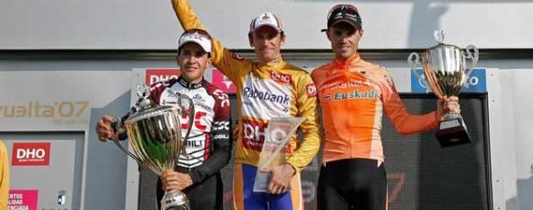 El ruso sentenció la Vuelta en la contrarreloj y se subió a lo más alto en Madrid.