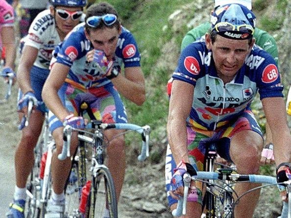 Rominger dominó la Vuelta a España de 1994 de principio a fin (foto:rtve.es)