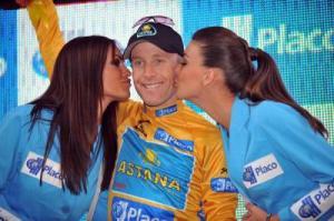 Leipheimer llegó a ser lider en la Vuelta a España 2008 (foto:valverde.skyrock.com)