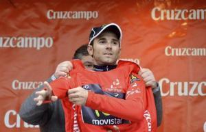 Valverde lleva dos años consecutivos ganando en la particular Ruta del Sol (foto:lainformacion.com)